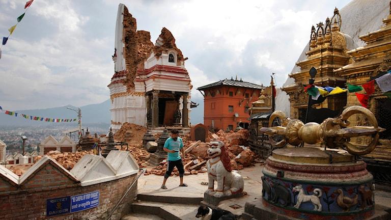 Nepal, jordbävning