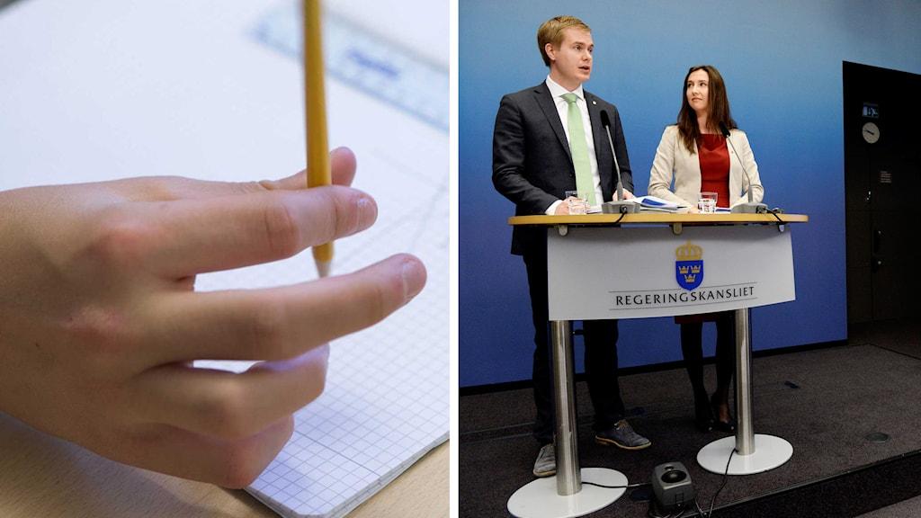 Foto: Fredrik Sandberg / TT och Janerik Henriksson / TT