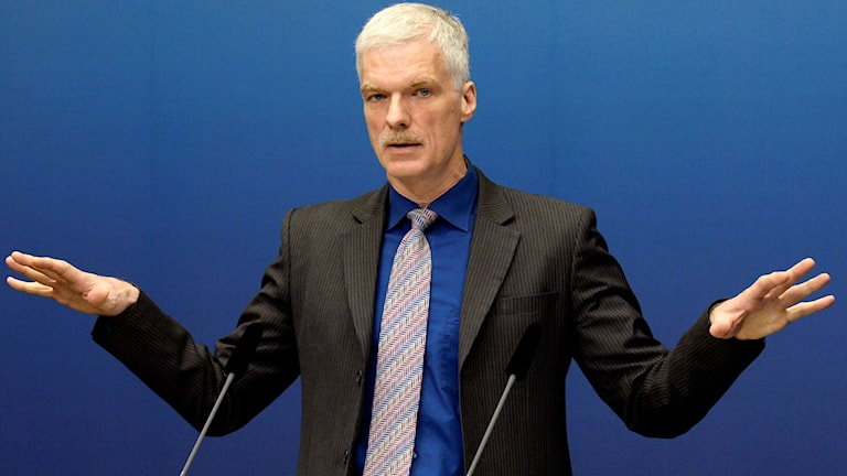 Andreas Schleicher, OECD:s chef för utbildningsfrågor. Foto: Janerik Henriksson/TT