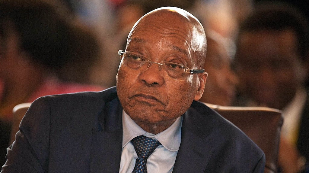 Sydafrikas president Jacob Zuma. Foto: Jekesai Njikizana/TT.