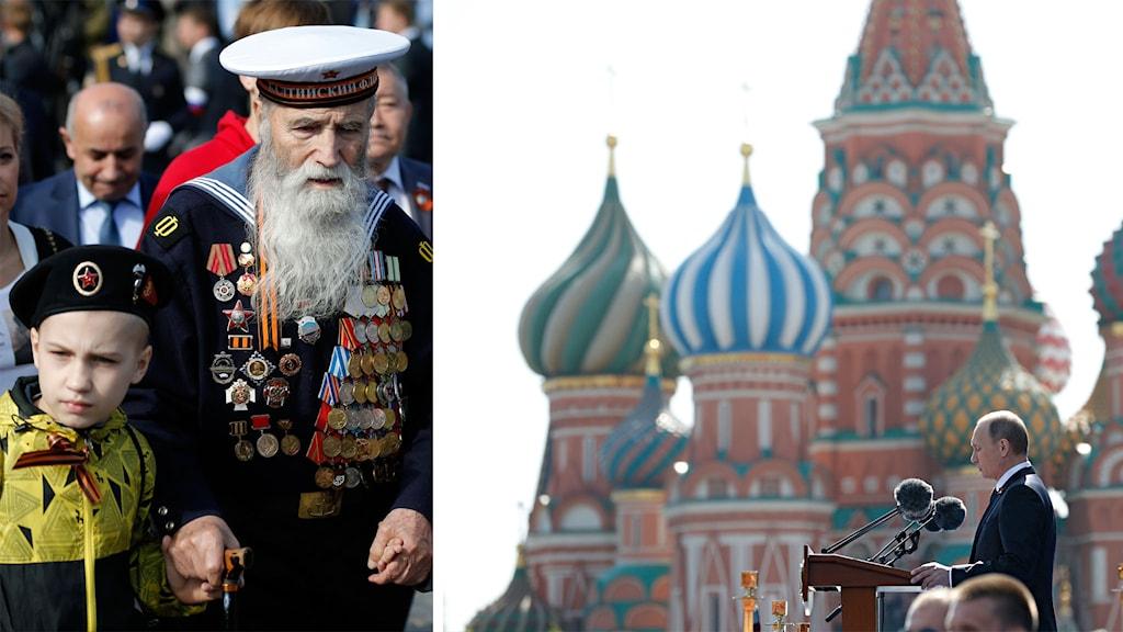 Vladimir Putin, firandet av andra världskrigets slut