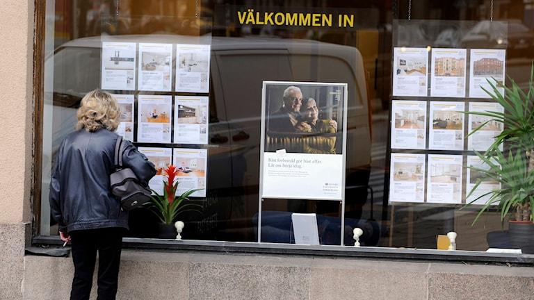 i storstäderna fortsatte uppgången, och villapriserna steg. Foto: Bertil Ericson/TT.