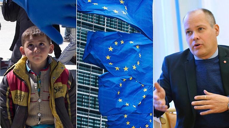 morgan johansson EU flyktingar