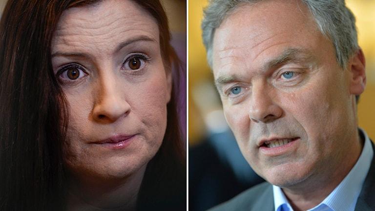 Birgitta Ohlsson och Jan Björklund. Foto: Per Larsson/TT, Henrik Montgomery/TT