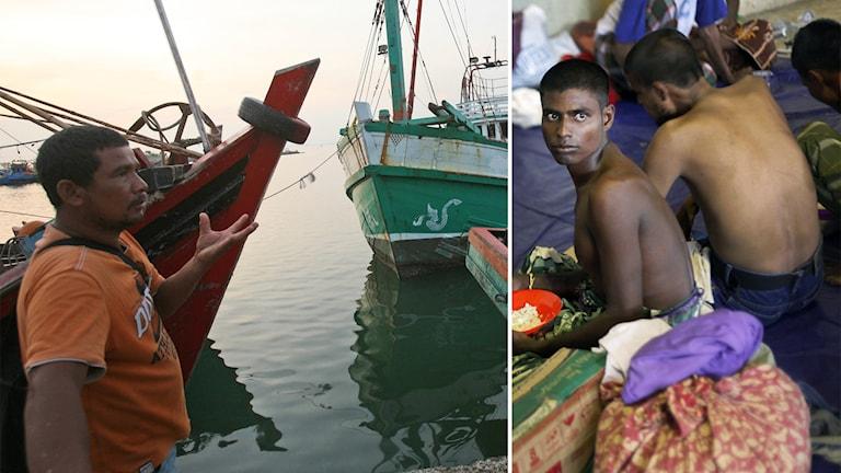 Flyktingar, sydostasien, thailand