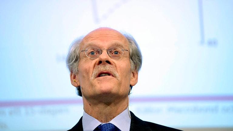 Riksbankens chef Stefan Ingves. Foto: Vilhelm Stokstad /TT.