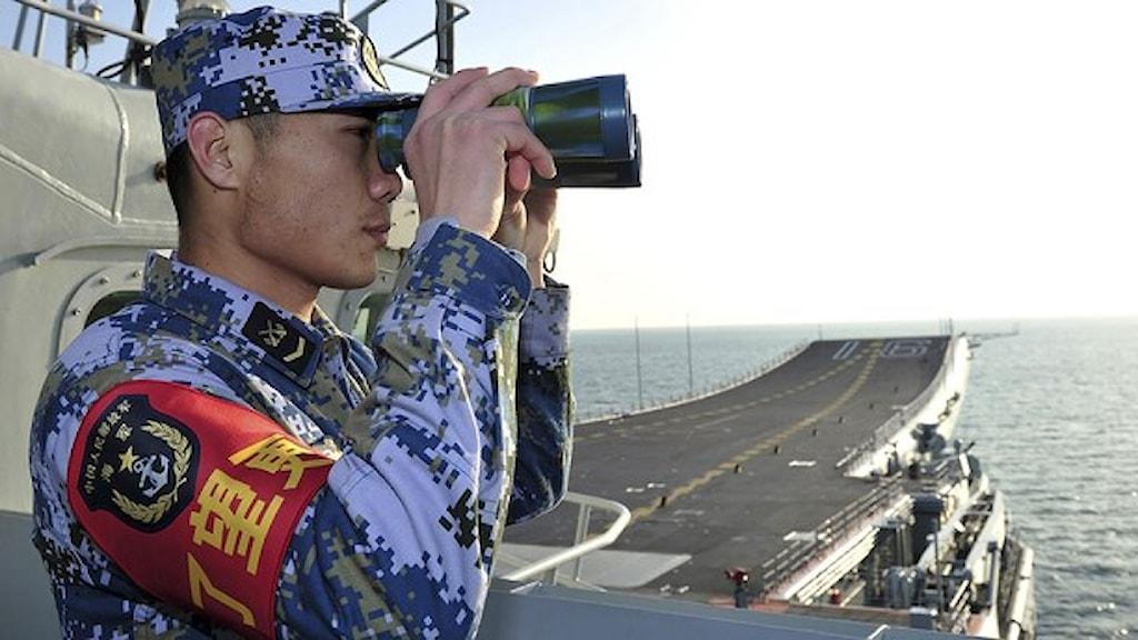 Kinesiska flottan. Foto: TT