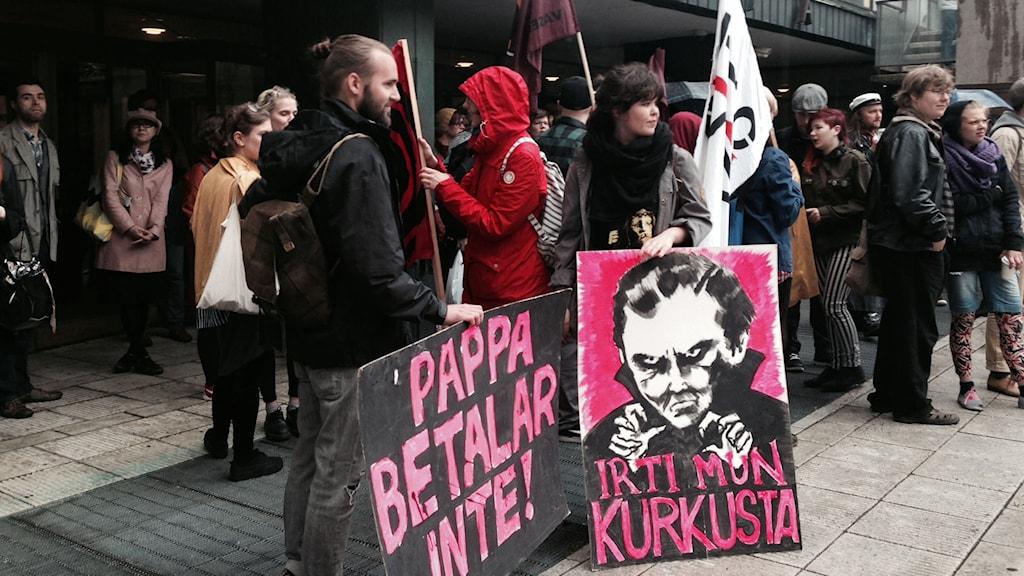 Studentdemonstration