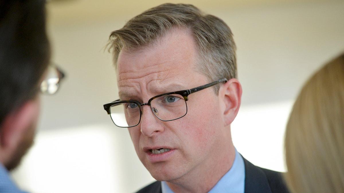 Näringsminister Mikael Damberg. Foto: Henrik Montgomery/TT