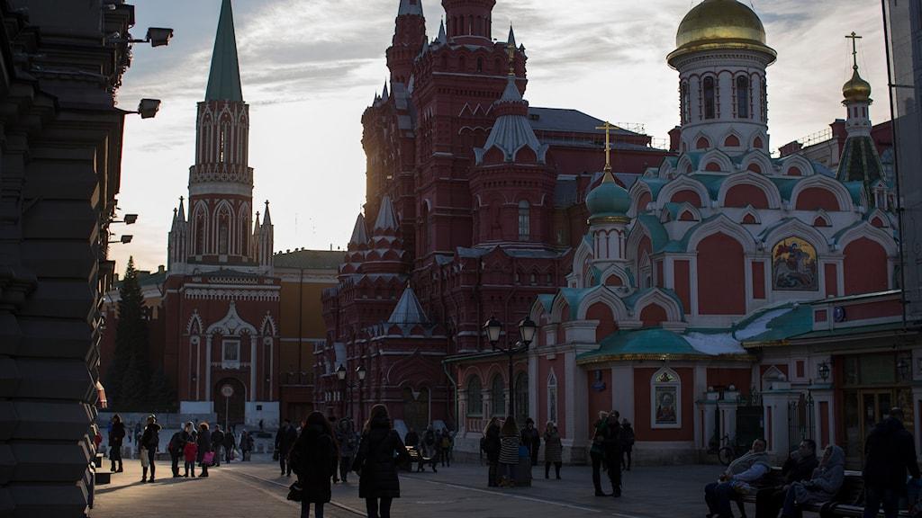 Moskva. Foto: Alexander Zemlianichenko/TT