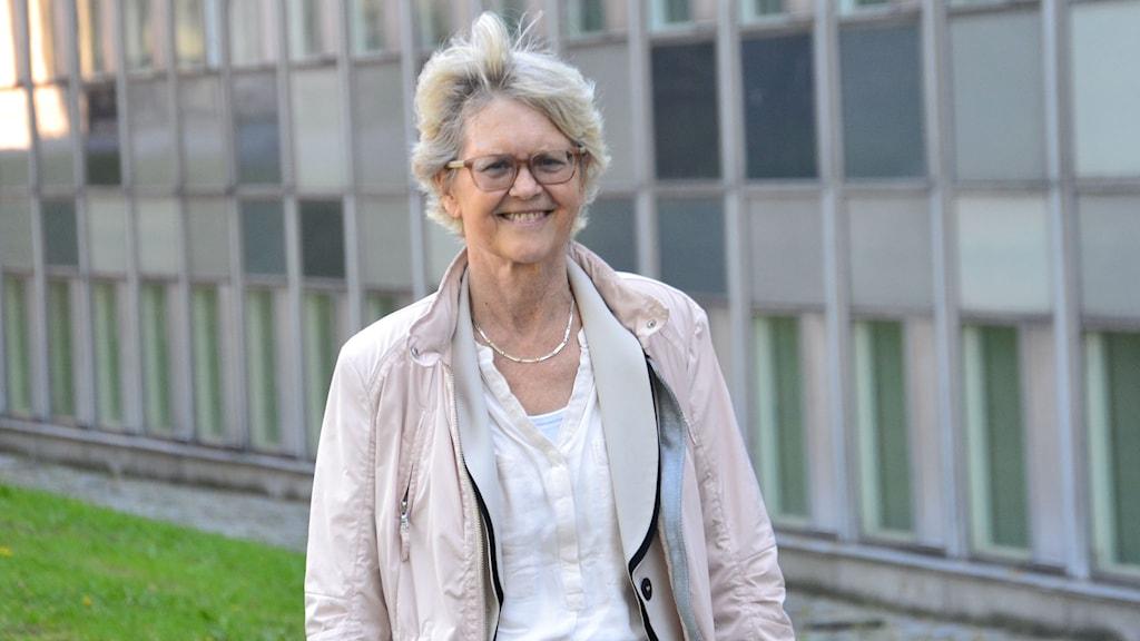 Överläkare Ingela Fehrman-Ekholm. Foto: Anna Larsson, Sveriges Radio.