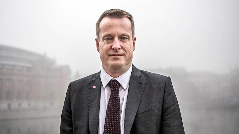 Inrikesminister Anders Ygeman (S). Foto: Bezav Mahmod/TT.