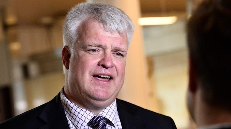 Michael Arthursson, partisekreterare Centerpartiet.