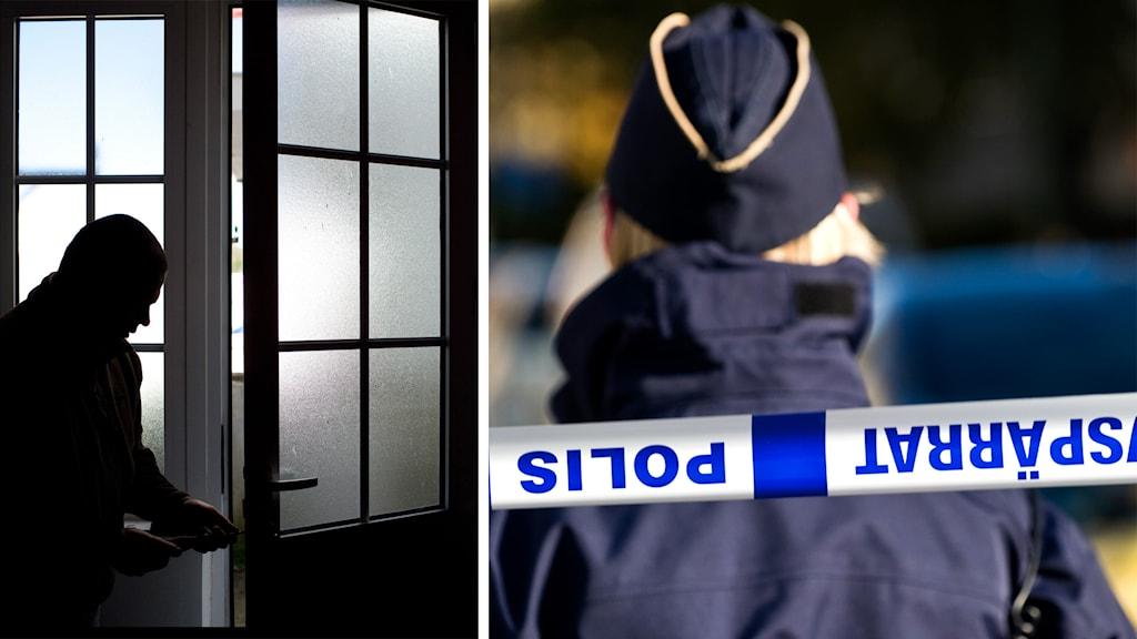 polis, inbrott