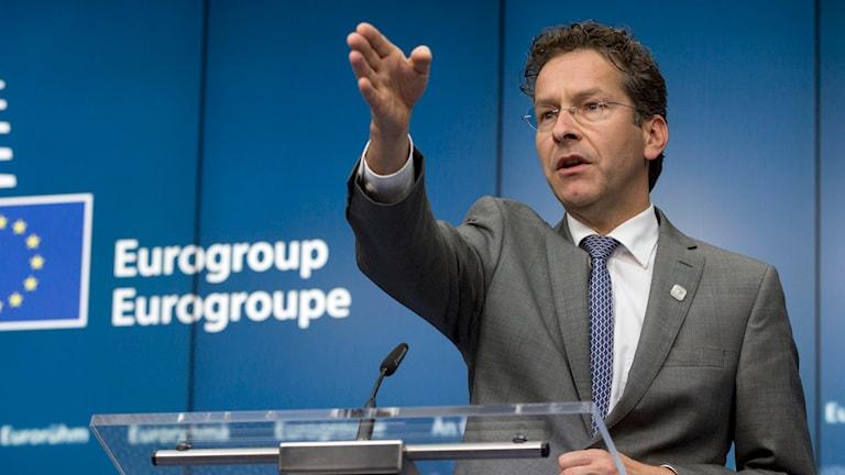 Jeroen Dijsselbloem, Nederländernas finansminister och Eurogruppens ordförande. Foto: Virginia Mayo