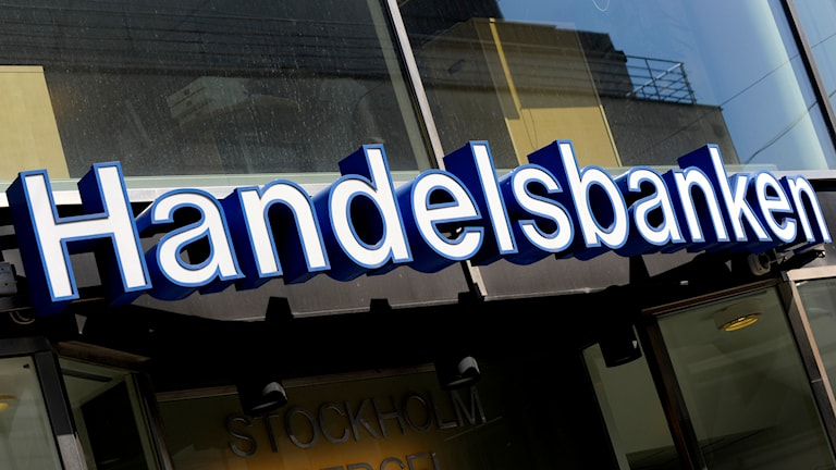 Handelsbanken går mot strömmen. Foto: Janerik Henriksson/TT
