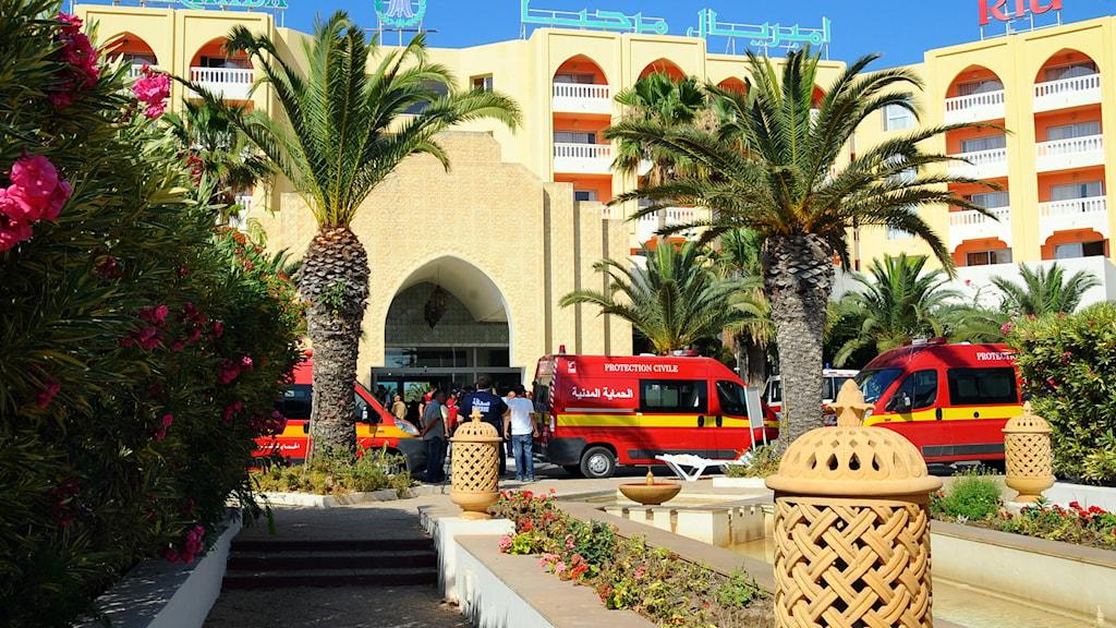 Hotell i Tunisien Foto: Hassene Dridi/TT