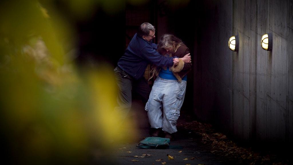 Överfall av kvinna Foto: Heiko Junge/TT