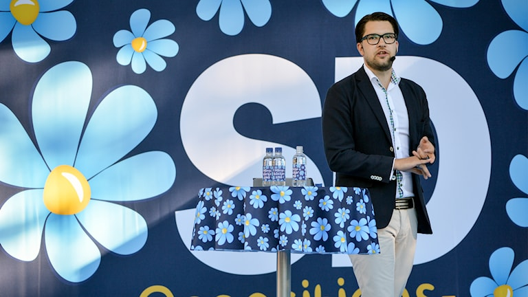 Jimmie Åkesson talar i Almedalen