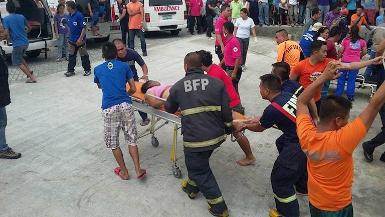Filippinerna, färjeolycka