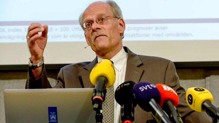 Riksbankschefen Stefan Ingves. Foto: Jonas Ekströmer/TT