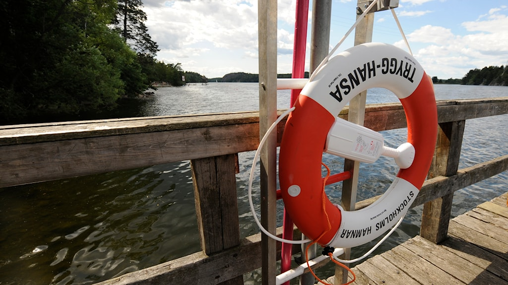 Livboj vid en sjö. Foto: Leif R Jansson / TT