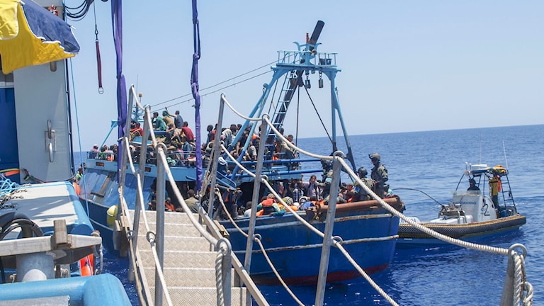 Fartyg, vatten Foto: KBV 001 Poseidon / Kustbevakningen