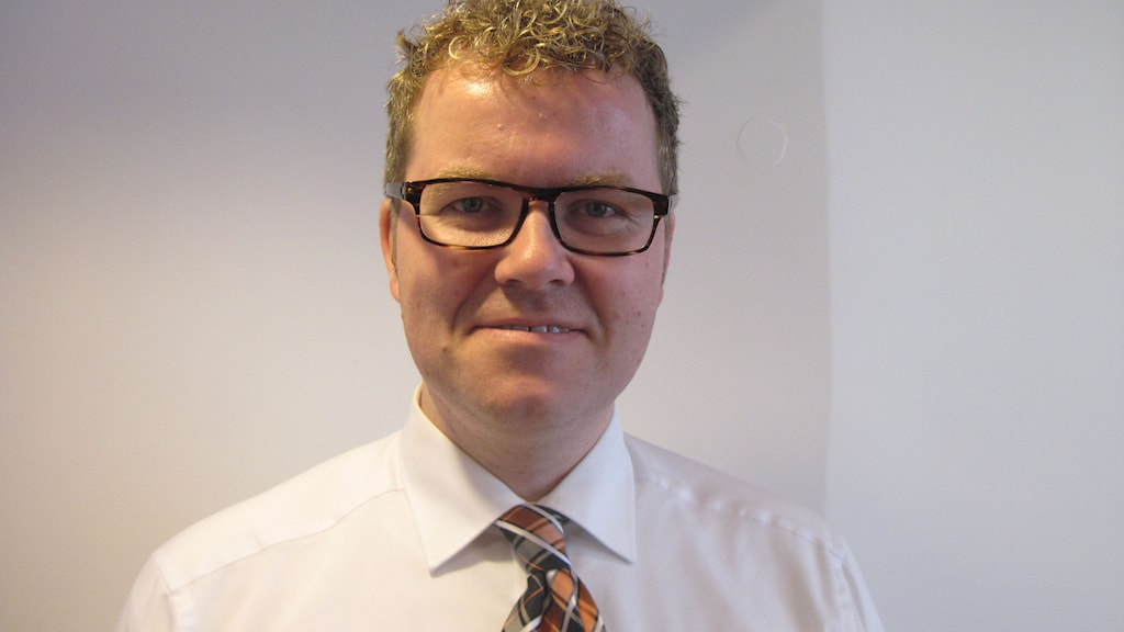 Bjørgulv Borgundvaag, norsk statssekreterare. Foto: Jens Möller, Sveriges Radio.