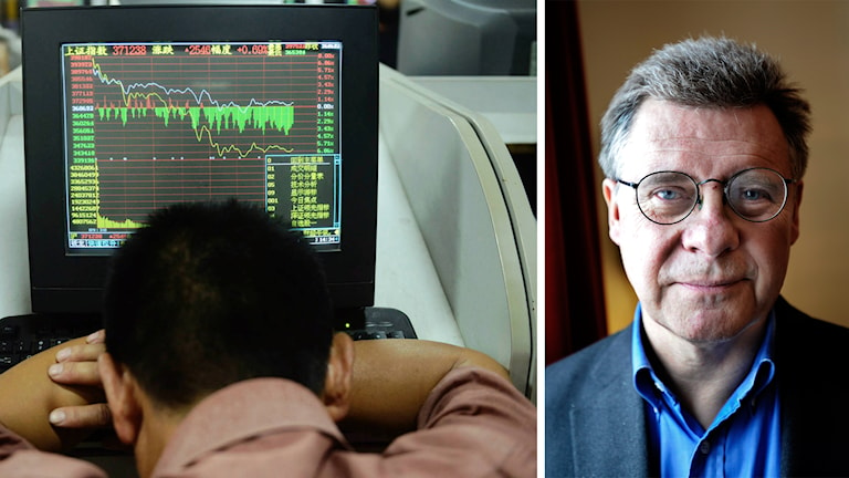 Klas Eklund om börsraset i Kina