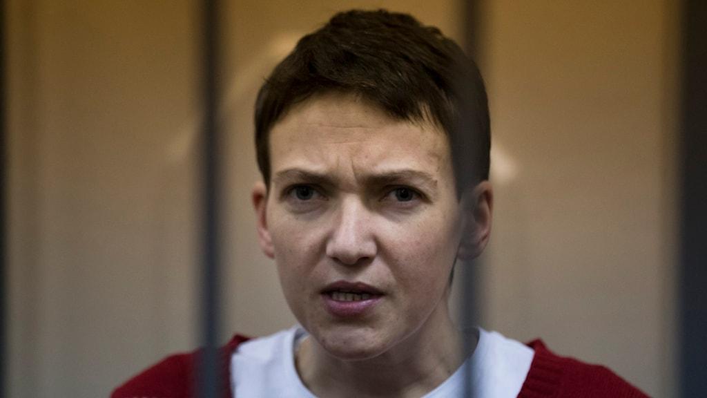 Nadezjda Savtjenko åtalas för mord och riskerar 25 års fängelse.
