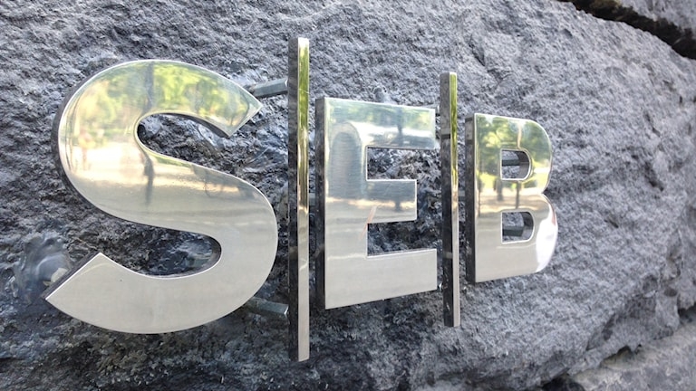 SEB presenterade i dag sin andra kvartalsrapport. Foto: Annika Selin/Sveriges Radio.