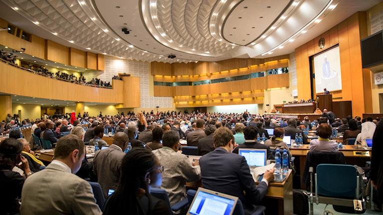 Den internationella konferensen för finansiering av nya utvecklingsmål samlades i måndags.