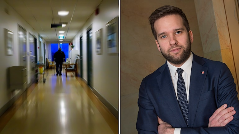 Folkhälso- och sjukvårdsminister Gabriel Wikström. Foto: Hasse Holmberg / TT och Jonas Ekströmer/TT
