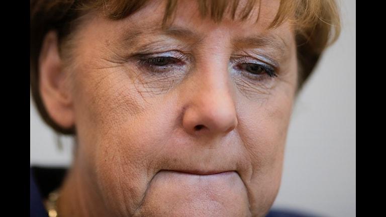 Tysklands förbundskanslern Angela Merkel. Foto: TT
