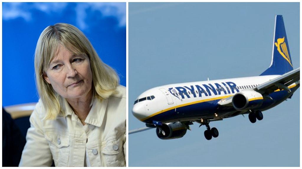 Marita Ulvskog (S), tillförordnad ordförande i Europaparlamentets arbetsmarknadsutskott. Foto: Janerik Henriksson / TT.