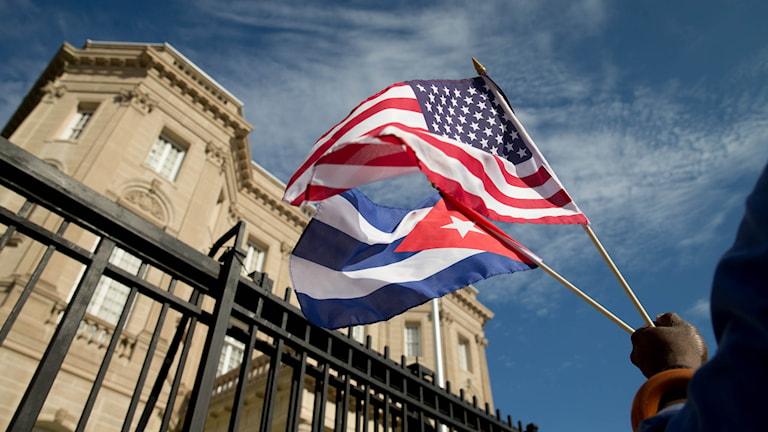 Kubas nya ambassad i Washington. Foto: Andrew Harnik, TT