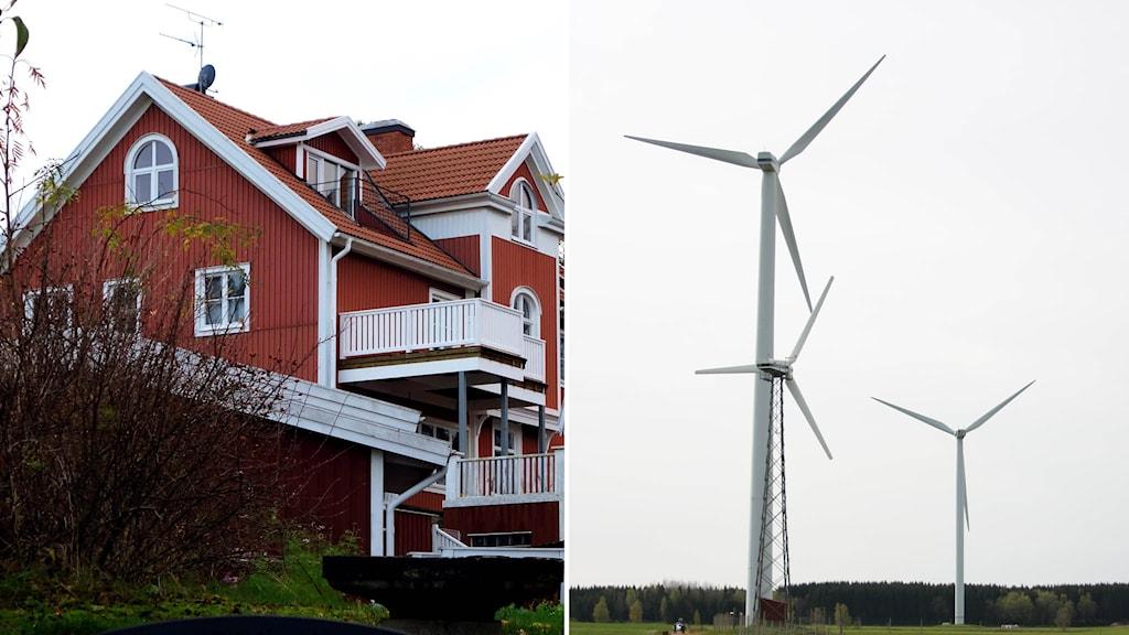 Ökad kapacitet från vindkraftverken ses som en av anledningarna till de låga elpriserna. Foto: TT