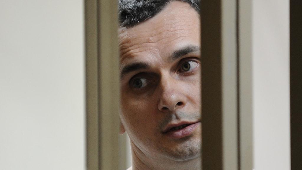 Filmregissören, Oleg Sentsov, greps i maj förra året på Krim, kort efter att halvön hade annekterats av Ryssland.