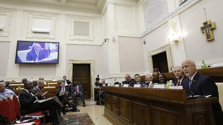 Borgmästare från 60 städer samlades i Vatikanen för att trycka på statscheferna inför FN:s klimattoppmöte i Paris.