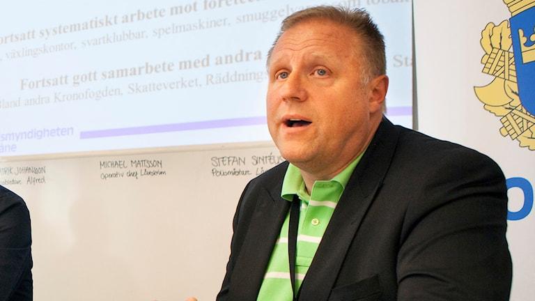 Malmös polismästare Stefan Sintéus säger att läget är exceptionellt