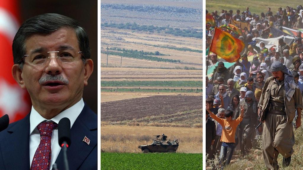 Turkiets premiärminister, tankbil, PKK Foto: AP/TT