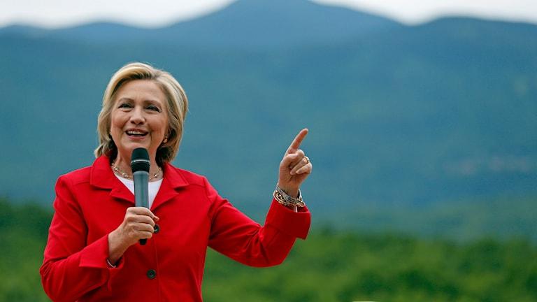Hillary Clinton. Foto: Robert F. Bukaty/TT