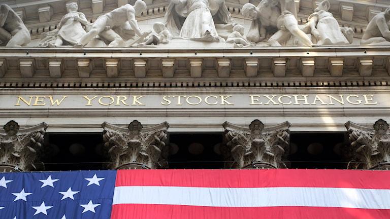 New York Stock Exchange. Foto: TT/ AP Photo/Mark Lennihan.