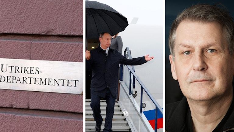 Sten Sjöström kommenterar utvecklingen mellan de rysk-svenska relationerna