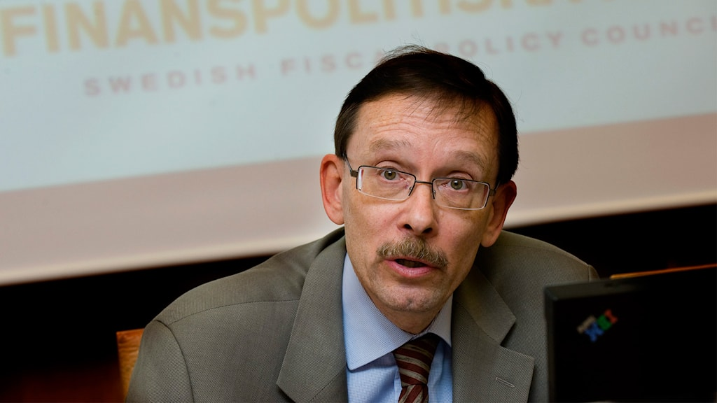 Professor Lars Calmfors, chairman of the Swedish Labour Policy Council. Photo: TT