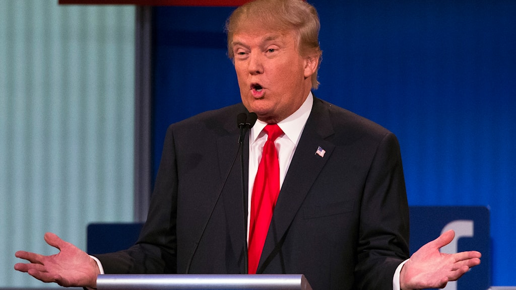 Donald Trump. Foto: John Minchillo/TT