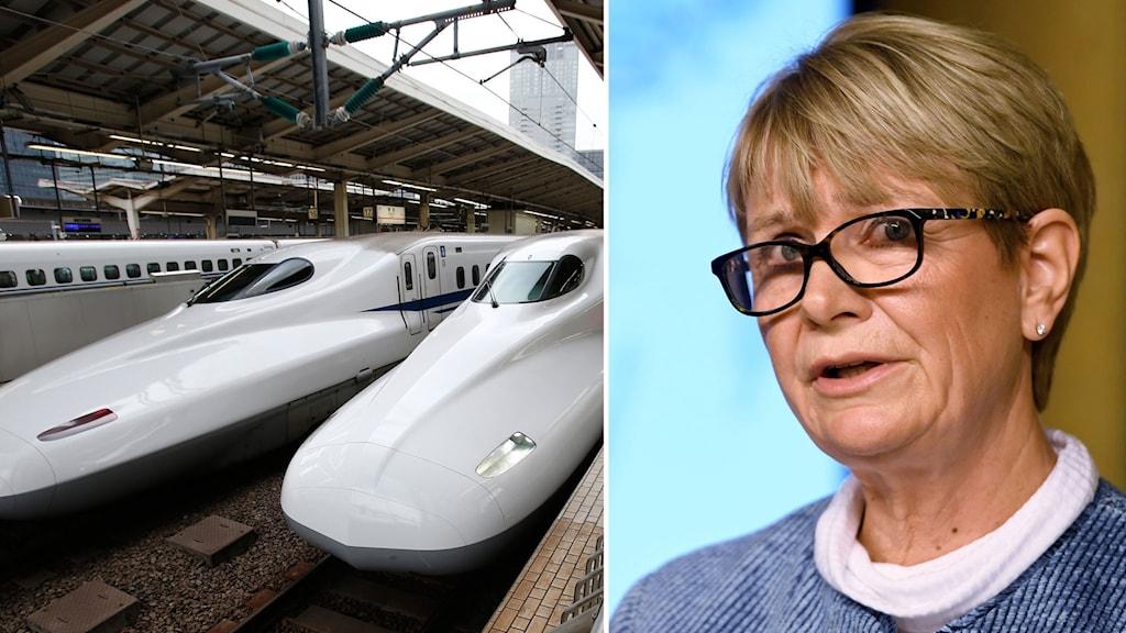 Sverige kan få snabbtåg år 2035.