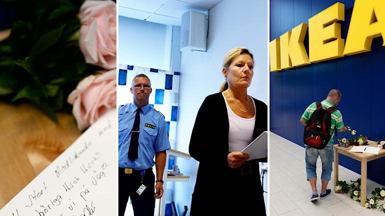 Minnesbok, Per Ågren, Eva Morén, Blommor utanför Ikea