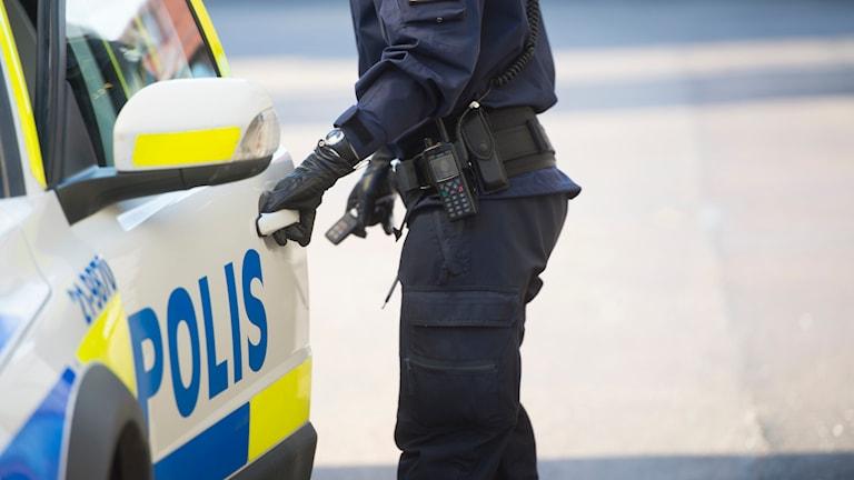 En äldre kvinna drunknade vid en badplats i Landskrona på lördagen. Foto: Fredrik Sandberg/TT.