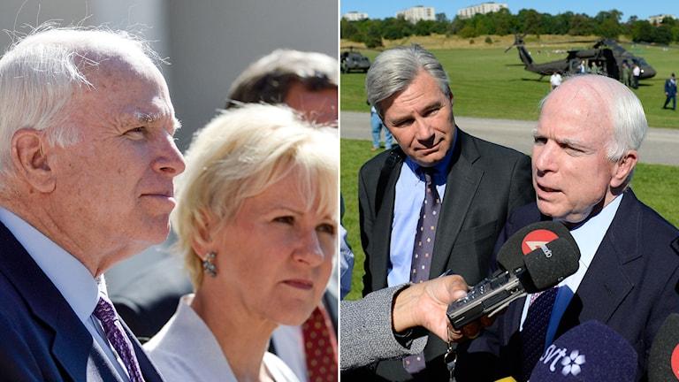 3826f06509ad McCain på besök i Stockholm: Putin är en buse - Nyheter (Ekot ...